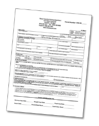Example of an Electrical Permit